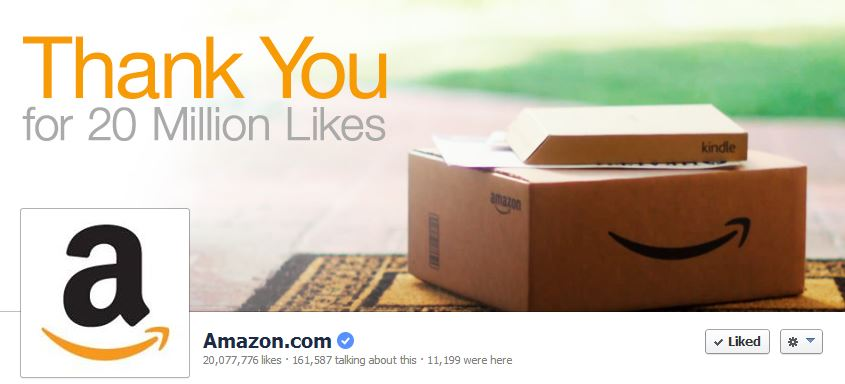 Facebook Cover by Amazon