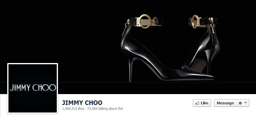 Facebook Cover by Jimmy Choo