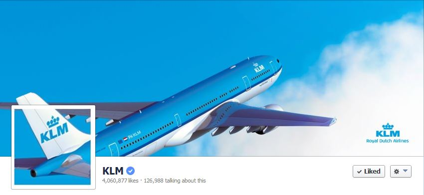 Facebook Cover by KLM