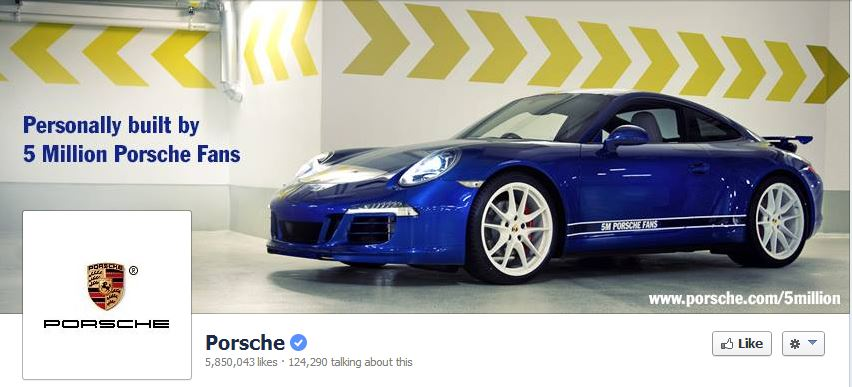 Facebook Cover by Porsche