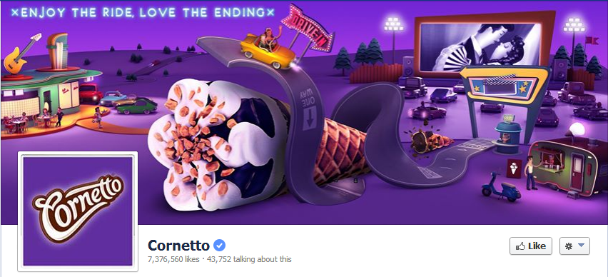 Cornetto Facebook Cover