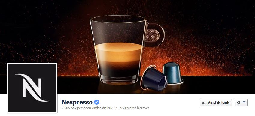 Nespresso Facebook Cover