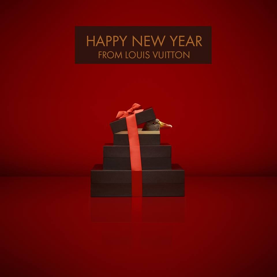 Louis Vuitton New Year post